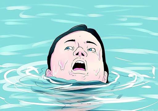 ملامح بين الطفو و الغرق