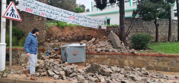 بعد تساقطات غزيرة السلطات المحلية تحصي خسائر فيضانات مدينة تطوان