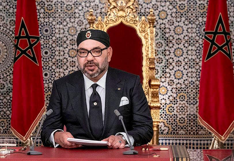 برقية تعزية ومواساة من جلالة الملك إلى أفراد أسرة الصحفي المرحوم الداه محمد الأغضف