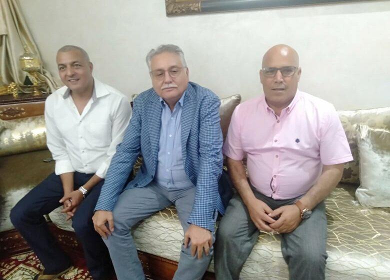 مهندس حزب الكتاب في القنيطرة مصطفى الكامح ينجح في إستقطاب ولد حمادي